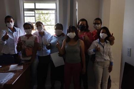 Agentes comunitários de saúde comemoram registro sindical
