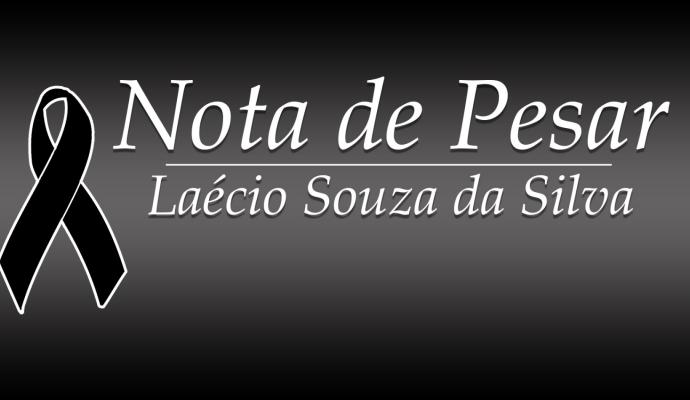 Nota de Pesar - Laécio Souza da Silva